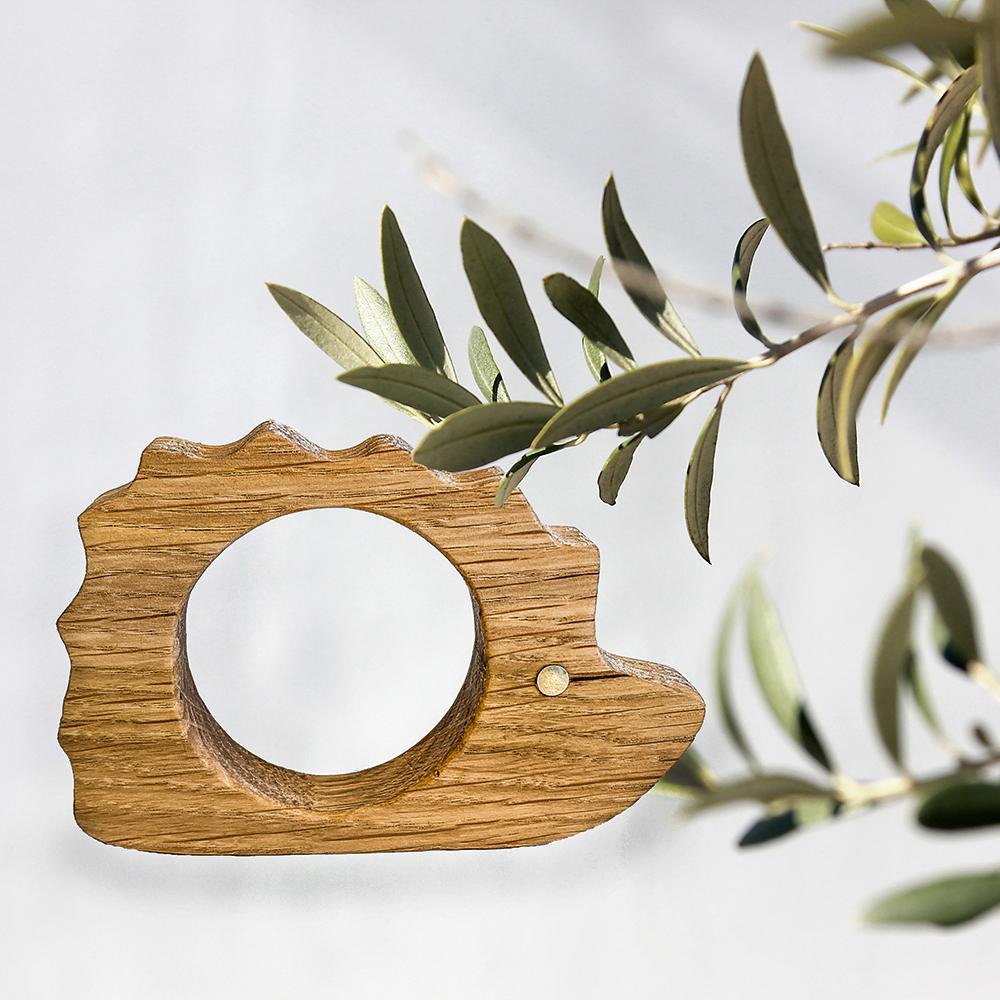 pindsvin i træ