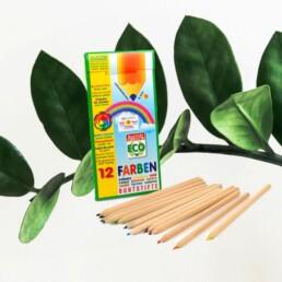 Bæredygtige farveblyanter uden skadelig kemi.