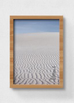 plakat sand