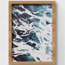 plakat ad bølge