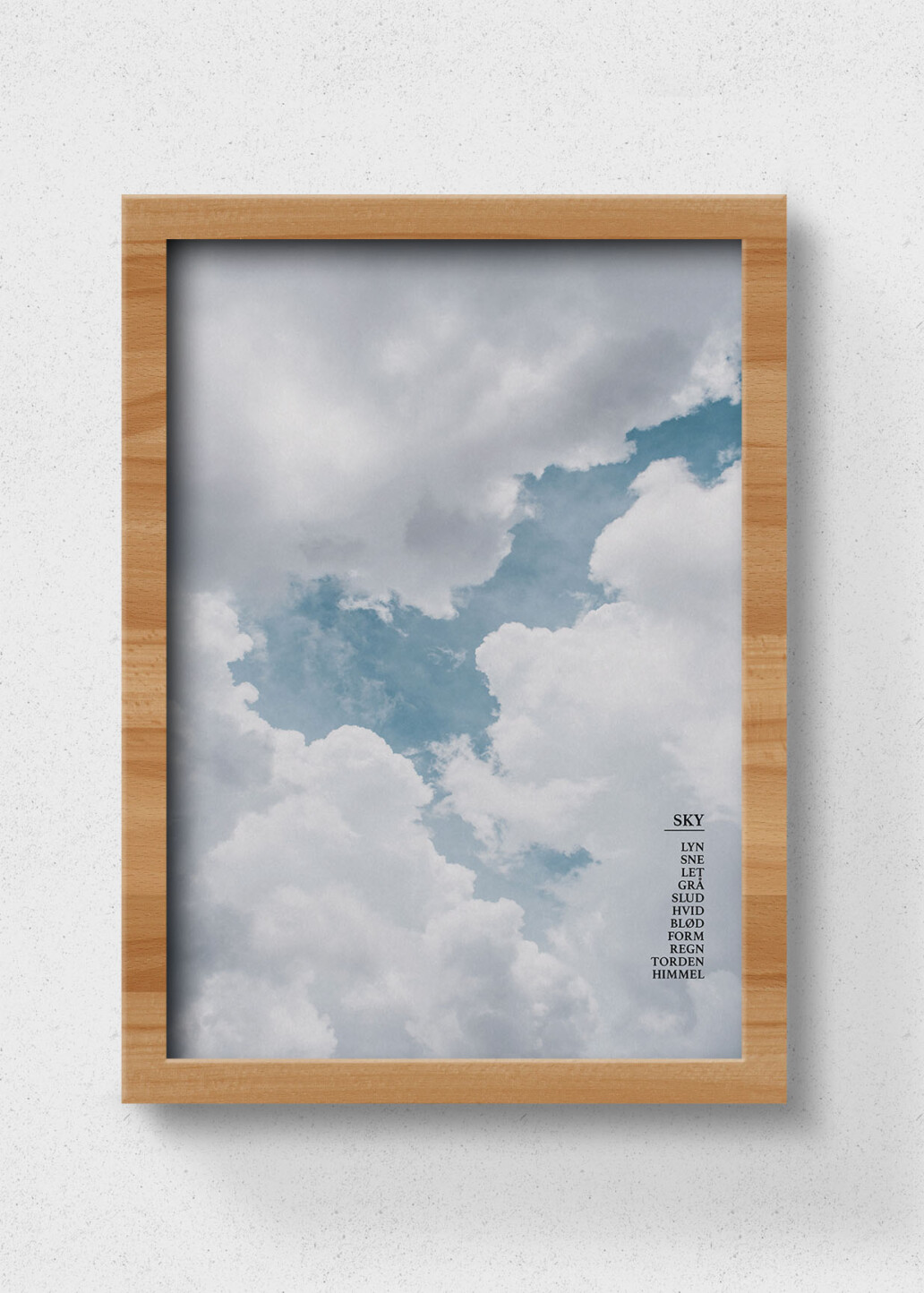 plakat sky