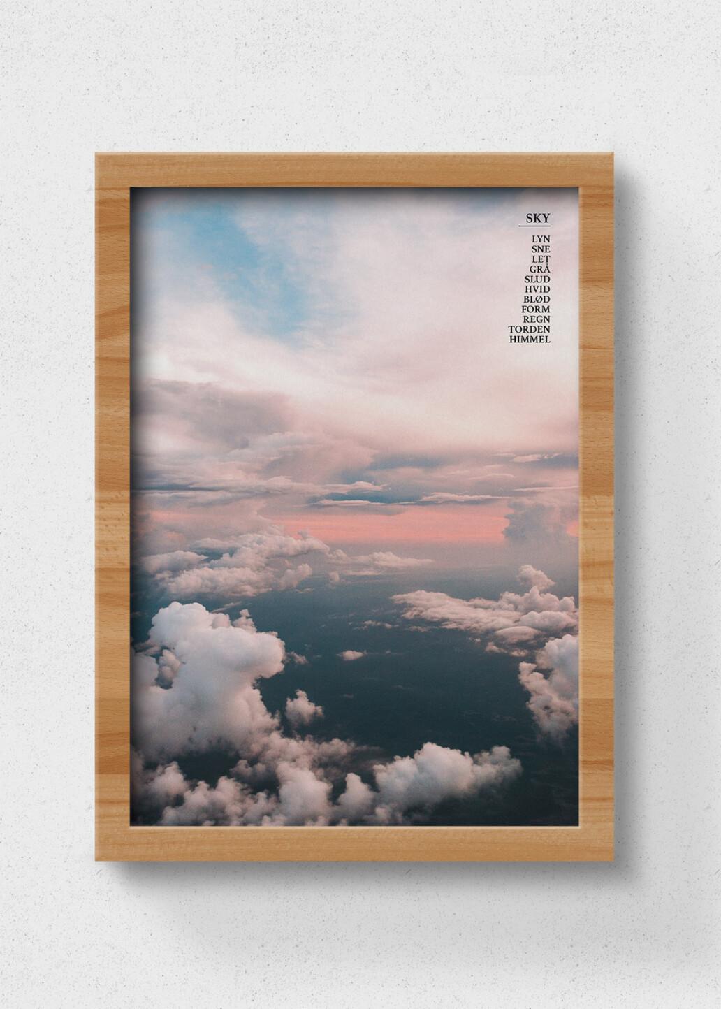plakat af sky