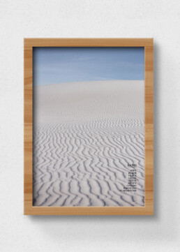 poster sand