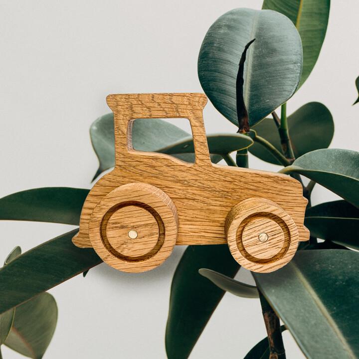 trælegetøj traktor