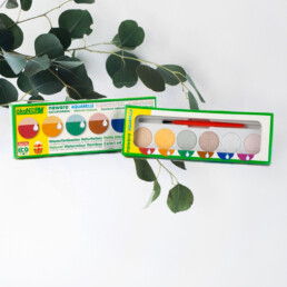 Økologisk vandfarve til børn af ôkoNORM. bæredygtigt og helt uden skadelig kemi.